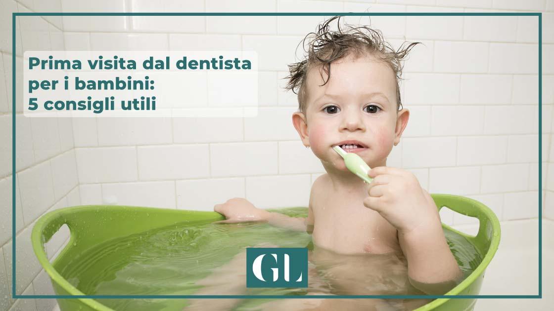 prima visita dentista bambini